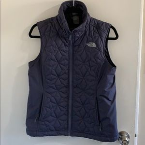 Quilted North Face puffy vest